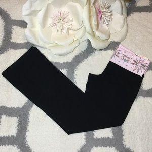 PINK Victoria's Secret Bling Boot Cut Yoga Pants L